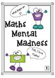 Maths Mental Grade 1- Number Knowledge