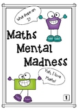 Maths Mental Grade 1- Number Knowledge