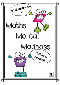 Maths Mental Grade 4- Number Knowledge