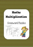 Maths Multiplication in Crossword Puzzles