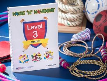 Physical Education Maths Games & Lessons – Year 2 / Level 3 Bundle (Australian)