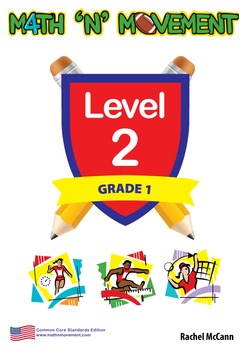 Physical Education Math Games & Lessons - Year 1 / Level 2 Bundle (USA)