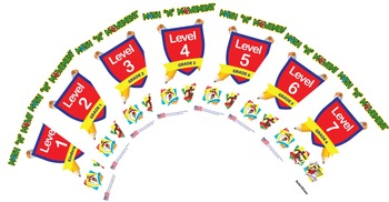 Math N Movement USA - Combined  - Levels 1 - 7 - Kindergarten to Year 6