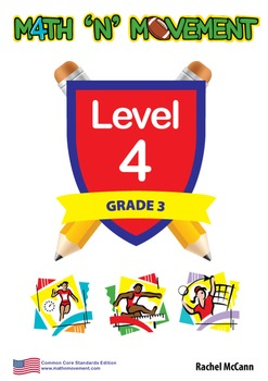 Physical Education Math Games & Lessons - Year 3 / Level 4