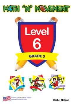 Physical Education Math Games & Lessons - Year 5 / Level 6 Bundle (USA)