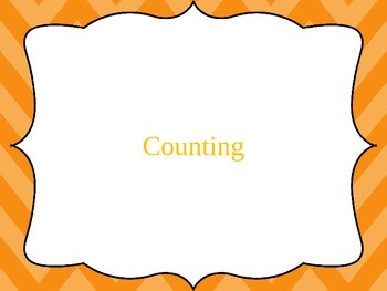 Maths Numeracy Counting Powerpoint Warm-up - Counting to 100