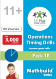 Maths Operations Timing Drills - Pack 1B
