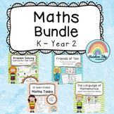 Maths Pack Bundle { No PREP } K - Year 2