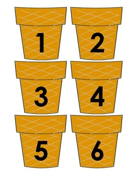 Maths - Place Value - Game - Ice creams