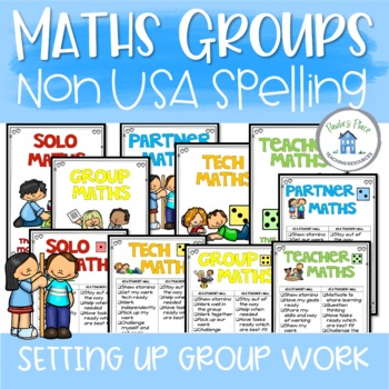 Maths Posters for Group Work (Aus Version)