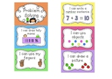 Maths Problem Solving Posters- Early Stage 1 and Stage 1