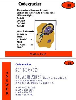 Maths Problems and Brain Teasers 3