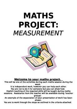 Maths Project- Measurement- Building a New House