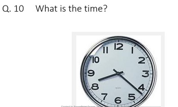 Maths Quiz/Game/PowerPoint on Time, Number, Area, Perimeter, Length