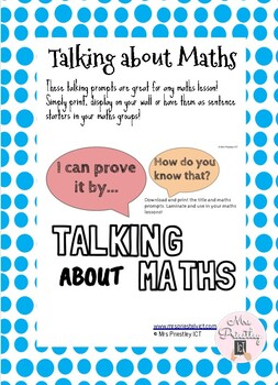 Maths Reflection Prompts