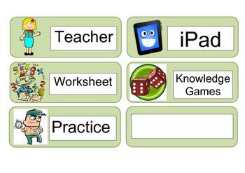 Maths Rotation Resource