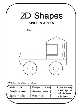 Maths - Space and Geometry - 2D Shapes _ ES1