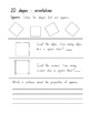 Maths - Space and Geometry - 2D Shapes _ S1