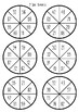Maths Spinners - basic facts, multiplication, addition, subtraction  diff levels