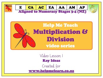 Maths - Stage 3-4 Multiplication Video 1