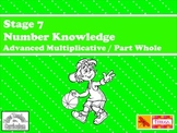Maths - Stage 7 Numeracy Knowledge Support Games