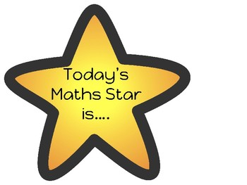 Maths Star