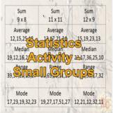 Maths Statistics Activity