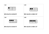 Maths - Subitizing and numeral identification 1-20