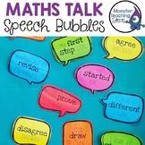 Maths Talk Speech Bubbles