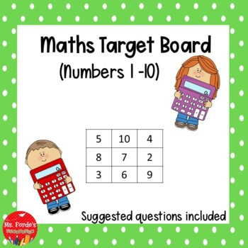 Maths Target Board (Easy)