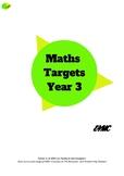 Maths Target Sheets - Year 3