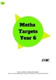 Maths Target Sheets - Year 6
