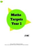 Maths Targets - Year 1