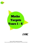 Maths Targets - support your child at home and school