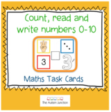 Count, read and write numbers 0-10
