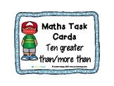 Maths Task Cards - Ten More 02