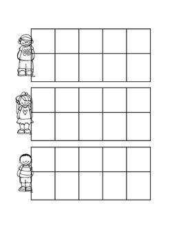 Maths Ten Frame Kids Free Printable Black and White Ten Frames