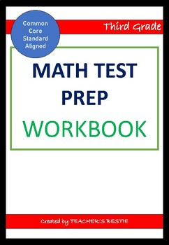 Maths Test Prep - Grade 3 - Aligned with Common Core Standard
