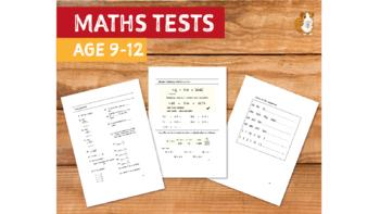 Maths Tests (Maths Land School Work Pack) (9-12 years)