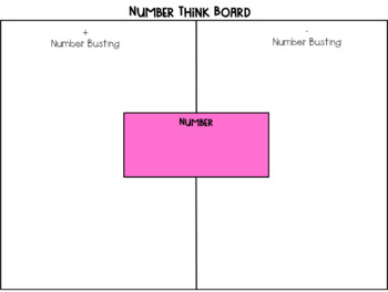 Maths Think Boards