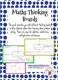 Maths Thinking Boards