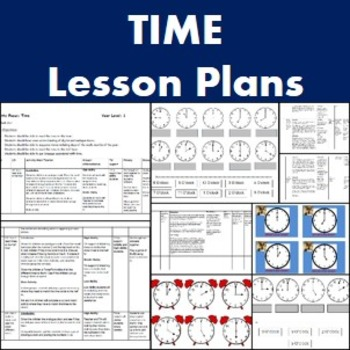 Maths- Time lesson plans and resources