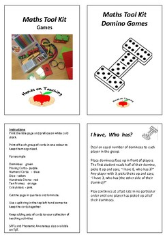 Maths Tool Kit - Domino Games