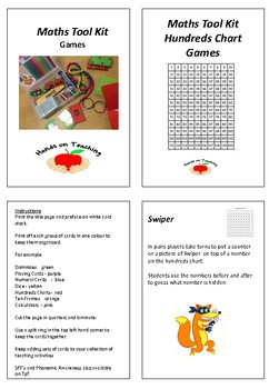 Maths Tool Kit - Hundreds Chart Games