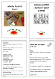 Maths Tool Kit- Numeral Cards
