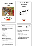 Maths Tool Kit - Ten Frame Games