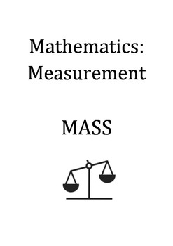 Maths Unit: Measurement - Mass