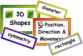Maths Vocabulary BUMPER Pack
