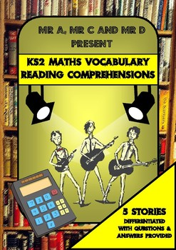 Maths Vocabulary Reading Comprehensions