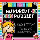 Maths Warm Ups: Hundreds Puzzles